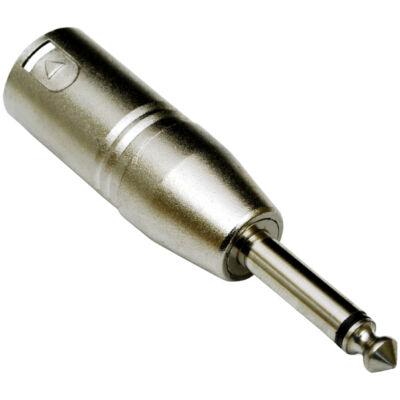 ADA-008 XLR(p) - 6,3 Jack(p) átalakító, monó