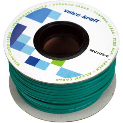 ROLLMC202-6 Mikrofon kábel, zöld