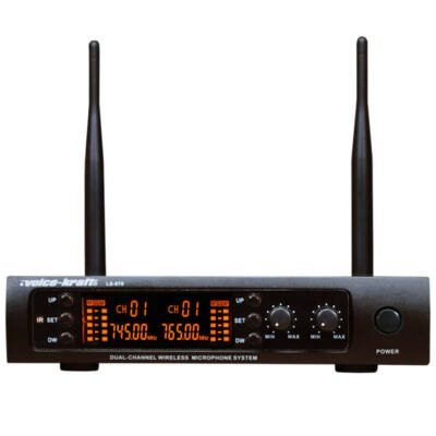 LS-970 Testszínű fejmikrofonnal 2 db UHF zsebadós mikrofon szett