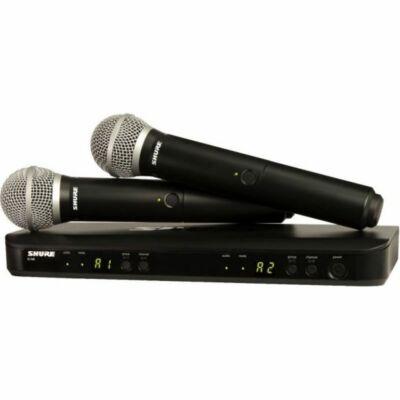 SHURE BLX288E/PG58 Vezeték nélküli dupla mikrofon szett