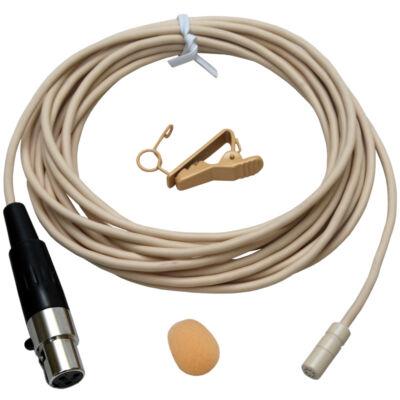 TCM-345 Csíptetős kondenzátor mikrofon (test színű)