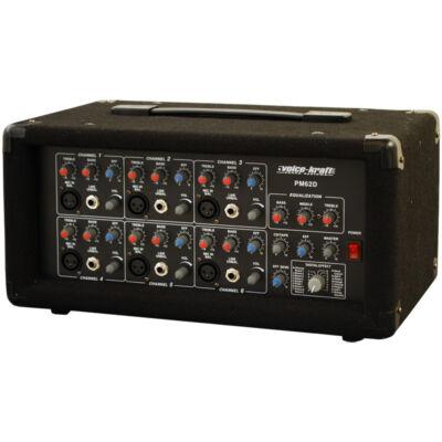 PM62D Powermixer, 2x75W/4Ohm, effekt