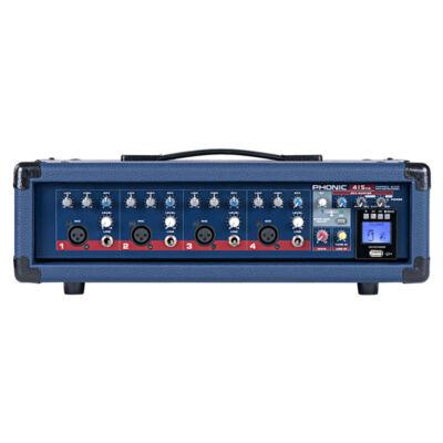 Powerpod 415RW Powermixer, 150W-os, 4 csatornás USB felvevő