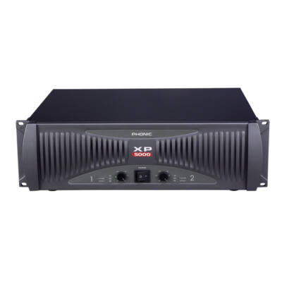 XP5000 Végerősítő, 2x1800W/4Ohm