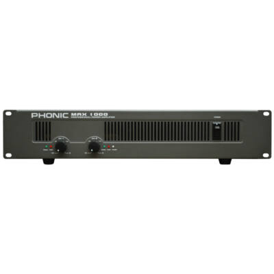 MAX1000 Végerősítő, 2x300W/4Ohm