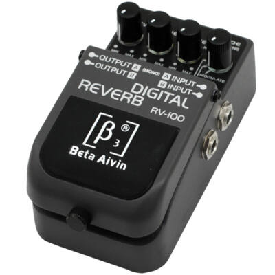 RV-100 Digital Reverb pedál