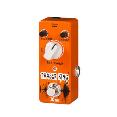 V6-PHASER Xvive mini pedál - Phaser King