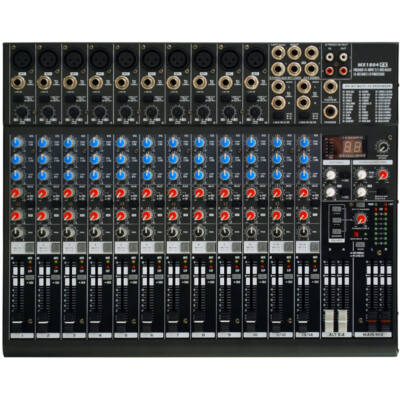 MX1804FX 10 mono / 2 stereo keverőpult effekttel