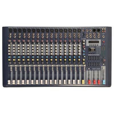 AM-M16DSP Keverőpult, 16 csatorna, effekt, MP3 lejátszó