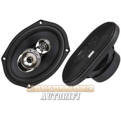 Kicx PRO 693 16x23 cm-es HI-END ovális autóhifi hangszórópár 300W max.