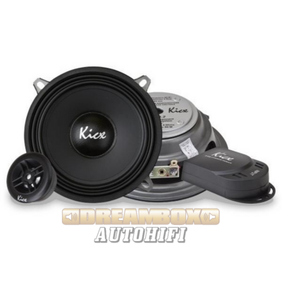Kicx SL 5.2 extra vékony 16,5 cm-es komponens autóhifi szett