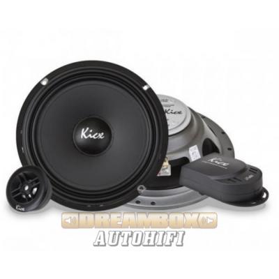 Kicx SL6.2 extra vékony 16,5 cm-es komponens autóhifi szett