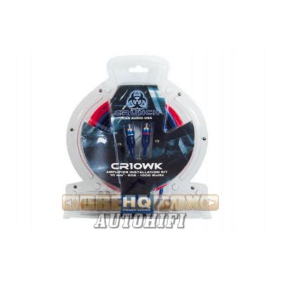 CRUNCH CR10WK, 10 mm2 kábelszett