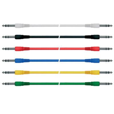 PC-80-09S 90 cm sztereó patch kábel 6db/csomag