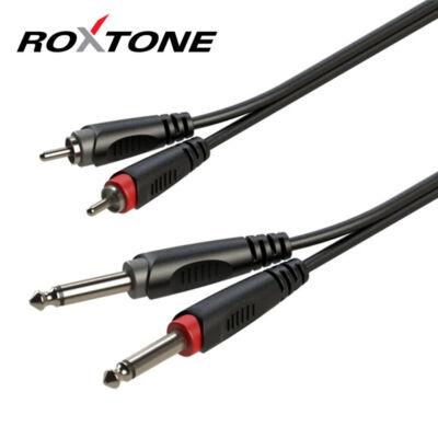 RACC150L1 2x6,3 Jack - 2xRCA kábel, 1m