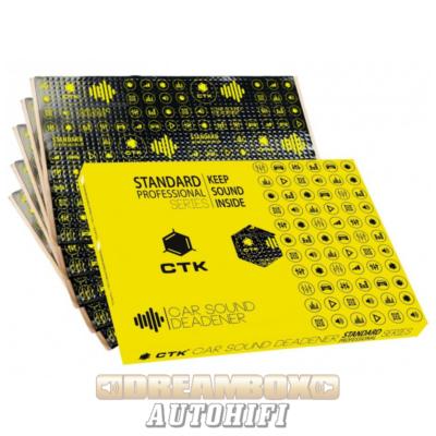 CTK Standard Pro 500x370x2 mm Bitumenlap alu