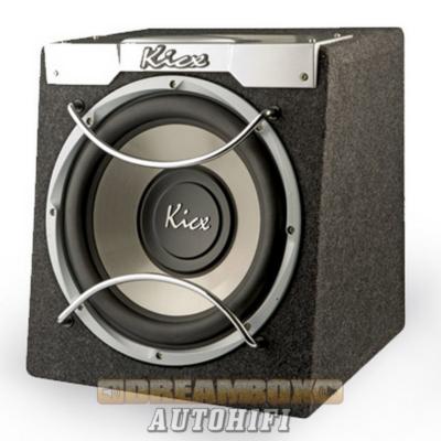 ICQ 300BA Kicx aktív autóhifi szubláda 30 cm szubbal, 500W max.