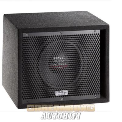 macAudio Mac Mobil Street Sub 108A Digitális erősítővel egybeépített mélynyomóláda kis méretben, 200W