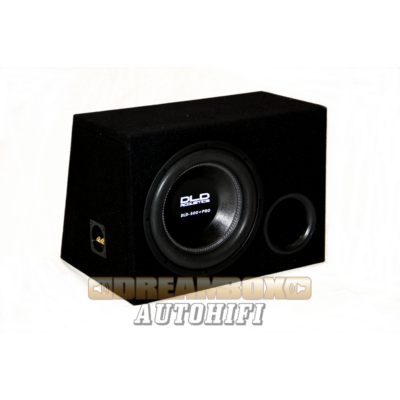 DLD 500+PRO reflex - DLD autóhifi szubláda 30 cm mélyhangszóróval, ÚJ MODELL!