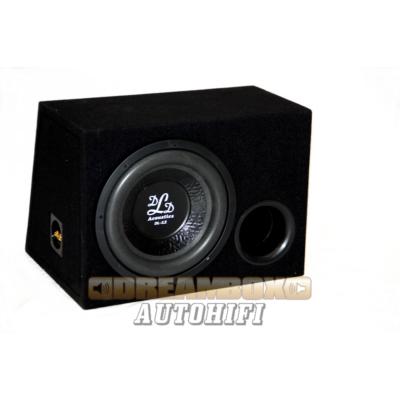 DLD DL12 reflex - DLD autóhifi szubláda 30 cm mélyhangszóróval 2x2ohm