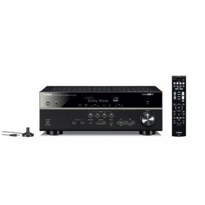 YAMAHA RX-V585 BLK, 7.2 csatornás AV erősítő, fekete
