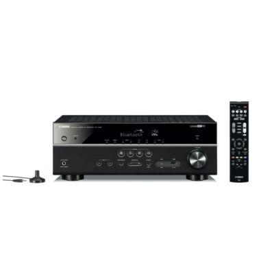 YAMAHA RX-V485 BLK, 5.1 csatornás AV erősítő, fekete